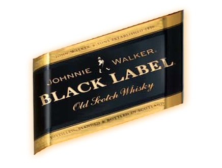 the gallery for johnnie walker black label logo. Black Bedroom Furniture Sets. Home Design Ideas